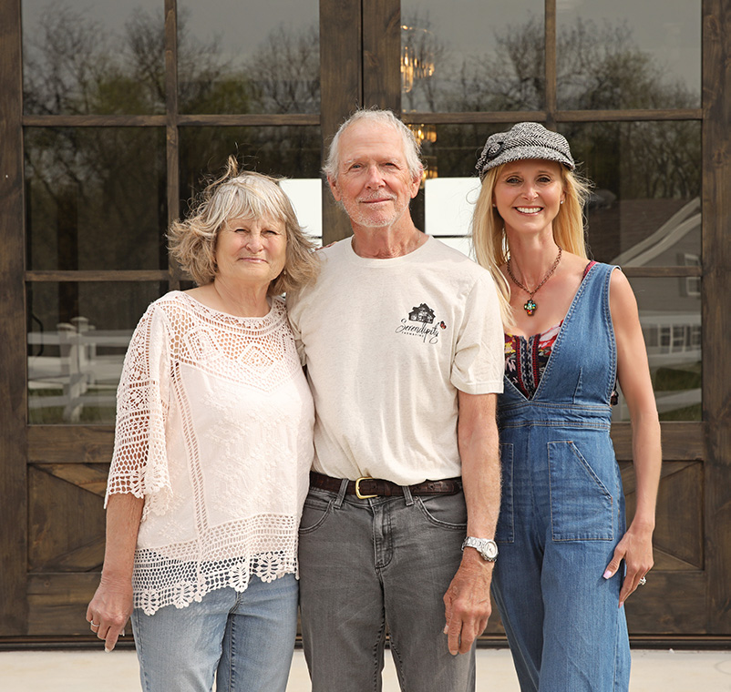 Tabb, Joyce, and Amy